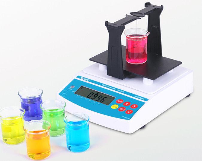 Plastic Measuring Tubes For Electronic Devices : Quarrz liquids density meter electronic densimeter