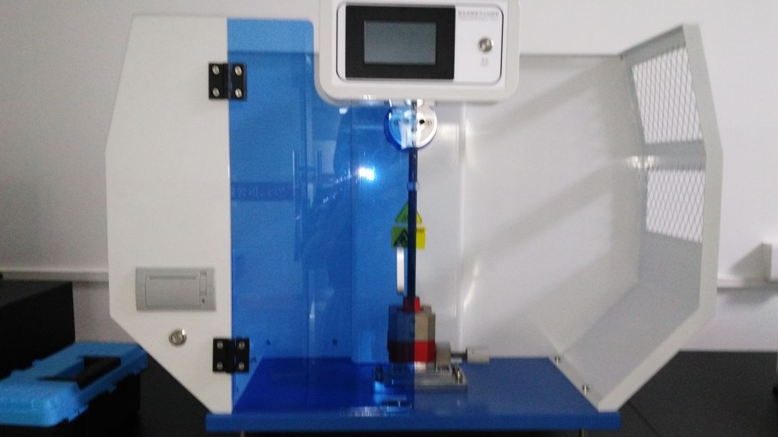 Professional Supplier Cantilever and Simple Beam Impact Testing Machine , Cantilever impact tester Excellent Quality