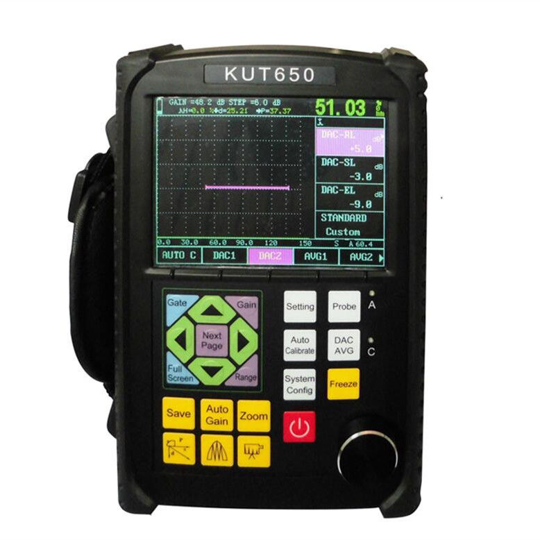 Ultrasonic Flaw Tester , Ultrasonic Flaw Detector Device for Sale , Portable Digital Ultrasonic Flaw Detector Supplier