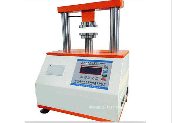 Microcomputer Edgewise Crush Resistance tester/Ring Crush Compression Resistance for Carton and Cardboard