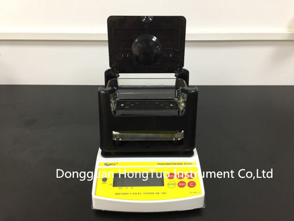 NEW Design Digital Electronic Precious Metal Tester , Gold Density Tester , Gold Purity Tester with Printer  AU-1200K