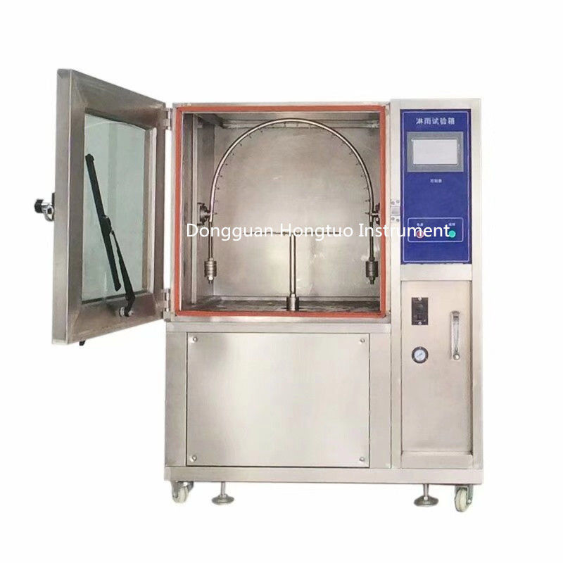 Environmental IPX3/IPX4 Waterproof Rain Resistance Test Chamber , Water Spray Test Chamber