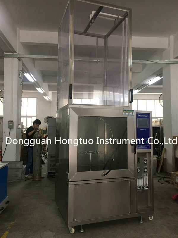 Automatic IPX3 IPX4 IPX5 IPX6 Environment Simulated Water Shower Rain Spray Testing Chamber For Waterproof Testing