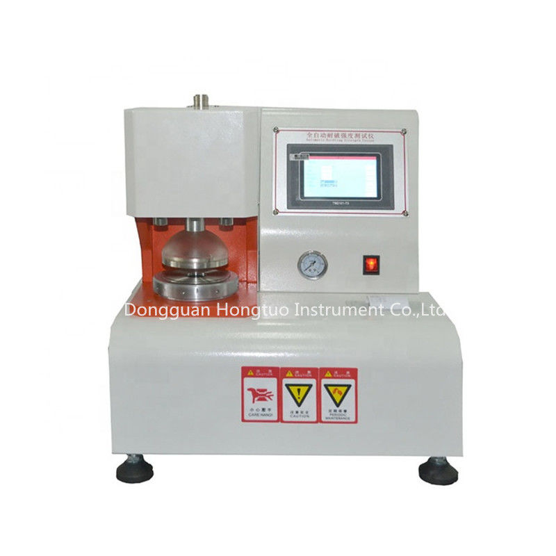 Textile/Carton/Cardboard/Paper Automatic Bursting Strength Test Machine / Equipment / Instrument / Device / Apparatus
