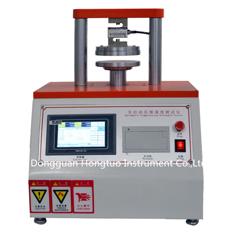 Ring Crush And Edge Crush Tester/ ECT or RCT Testing Machine , Paper ETC Edge Crush Tester