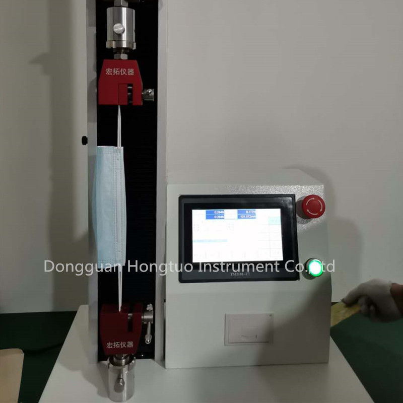 Universal Tensile Strength Tester for Mask Band Pull Rope and Connection Part , Mask Testing Device