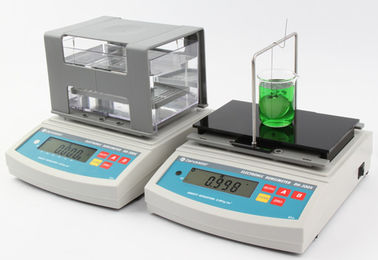 China Density Testing Machine , Density Hydrometer , Electronic Hydrometer for Solids , Liquids , Powder distributor