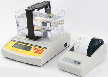 China DahoMeter High Precision Digital Electronic Gold Densimeter , Gold Purity Analyzer , Gold Testing Equipment DE-120K distributor