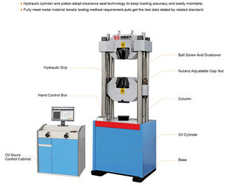 China Hydraulic Power Universal Tensile / Compression / Bending / Shearing / Testing Machine Usage factory