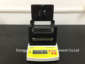 China Quarrz Digital Electronic Gold Analyzer , Gold Karat Tester with Printer AU-300K factory