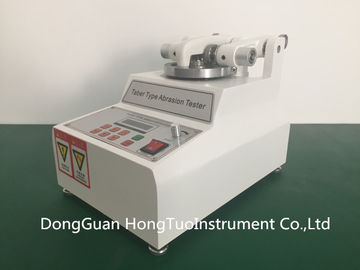 China Professional Supplier TABER Abrasion Resistance Tester , ASTM  Taber Abrasion Test Method distributor